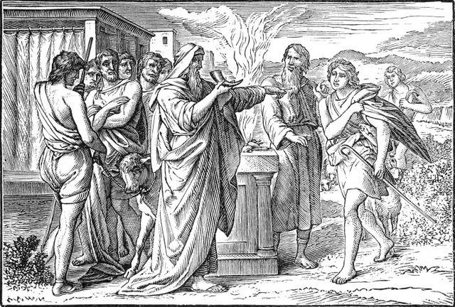 David anointed by Samuel I Samuel 16:11-12
