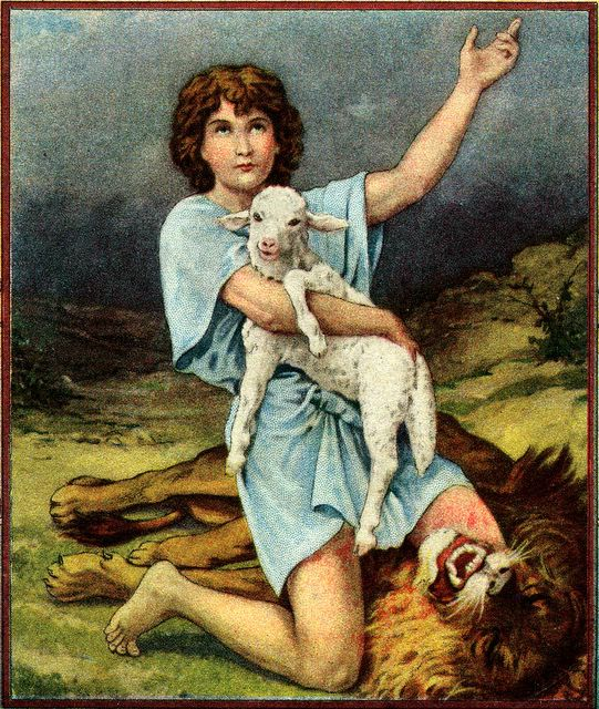David Kills a Lion I Samuel 17:34-36