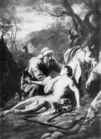 The Good Samaritan Luke 10:33-34