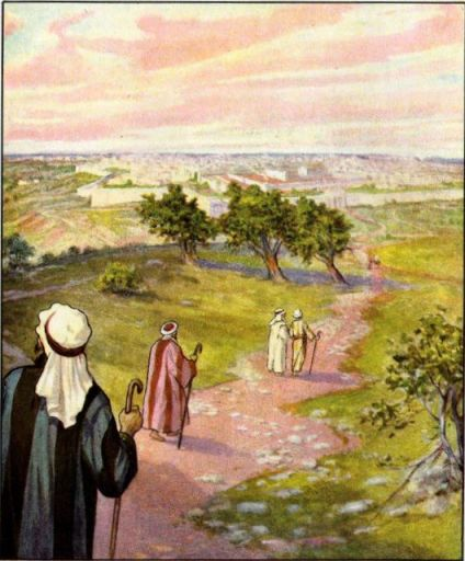 Travel to Jerusalem for a Feast Psalm 122